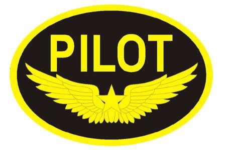 Pilot Logo Patch.