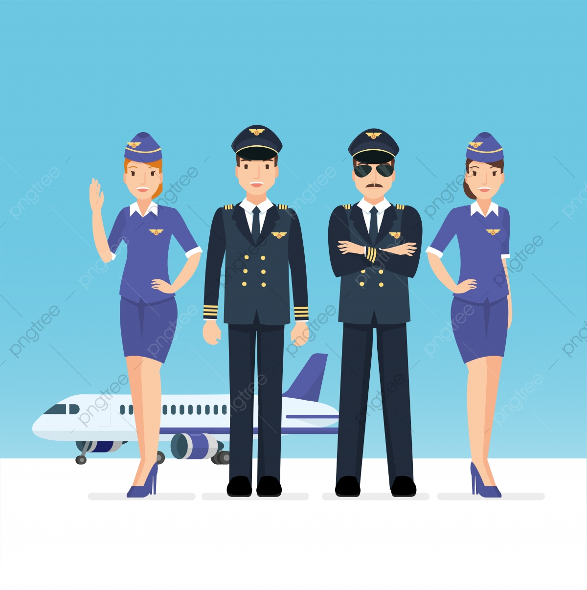 Pilot, Plane, Flight, Aviation PNG and Vector with.