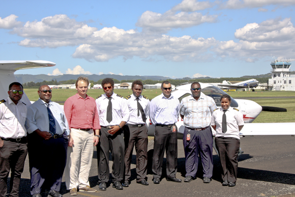 Eagle Flight Training endorsed by CASA PNG to train airline.
