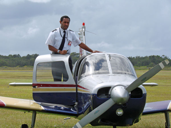 PNG pilots train in Coffs.