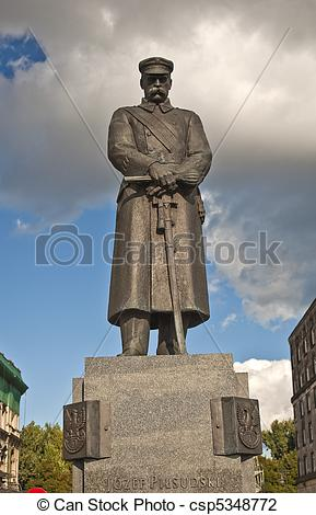Stock Photo of Jozef Pilsudski..