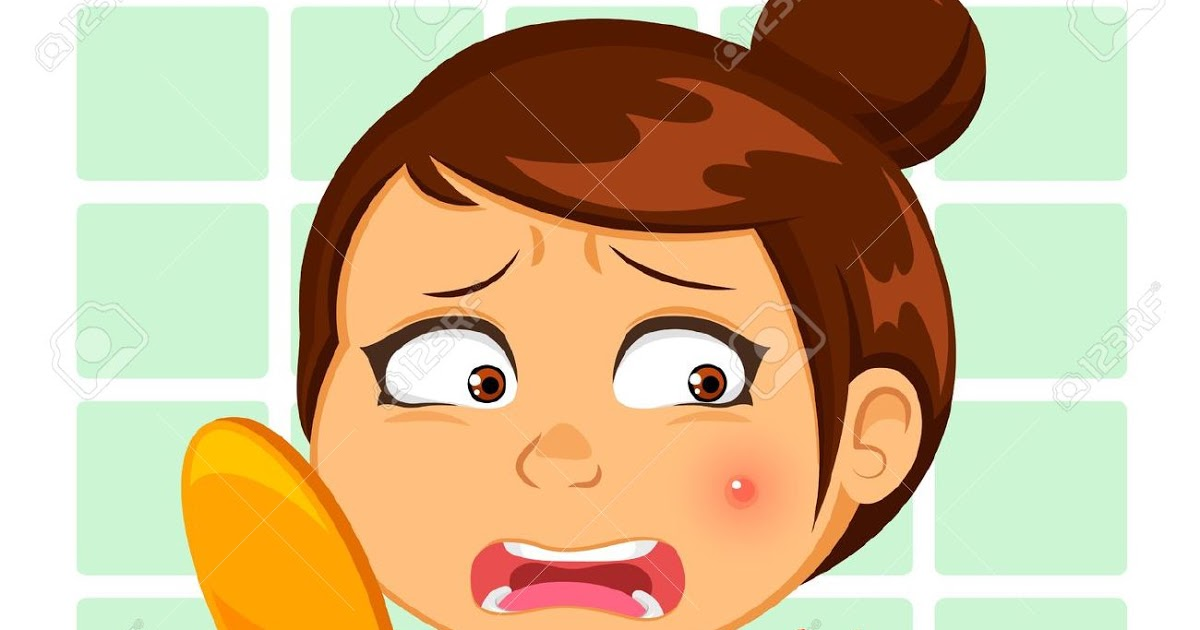 Acne clipart.