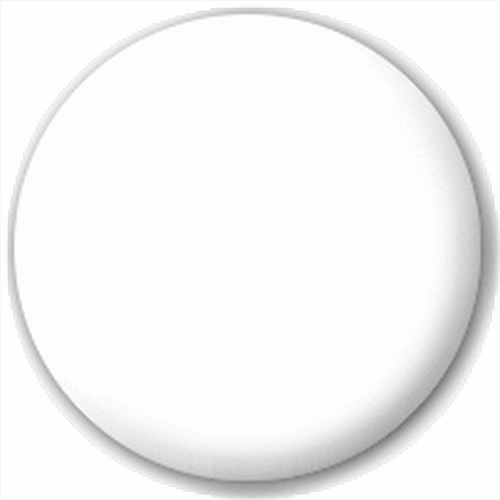Small 25mm Lapel Pin Button Badge Novelty Plain White Badge.