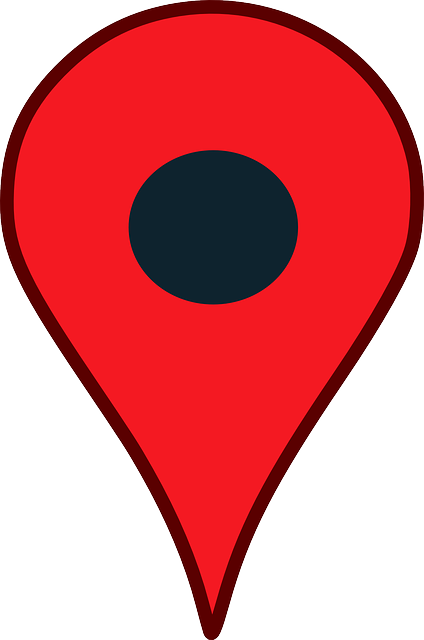Location Pointer Pin Google Map Red cakepins.com.