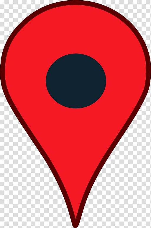 Red location icon, Google Maps pin Google Map Maker , Google.