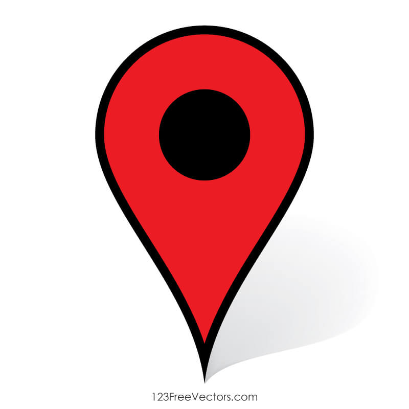 Google Maps Pin Icon.