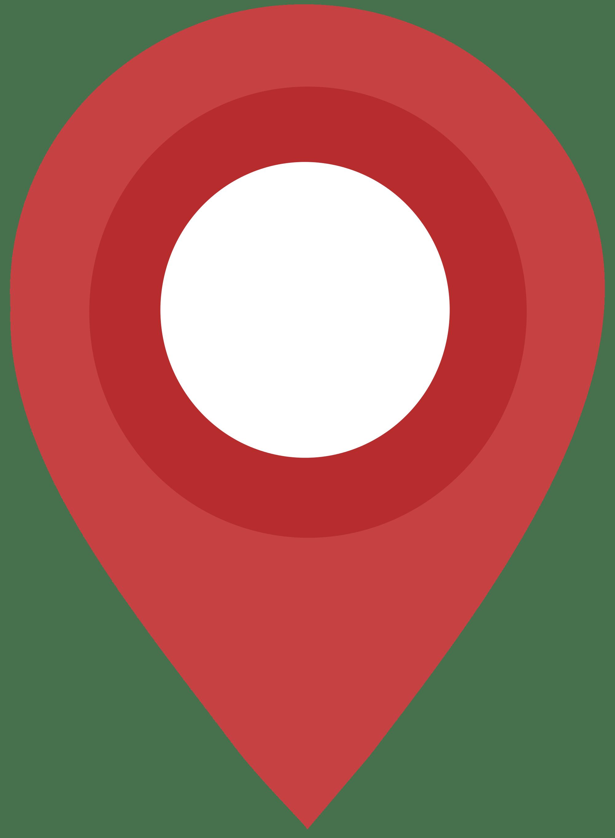 Flat Design Map Pin transparent PNG.