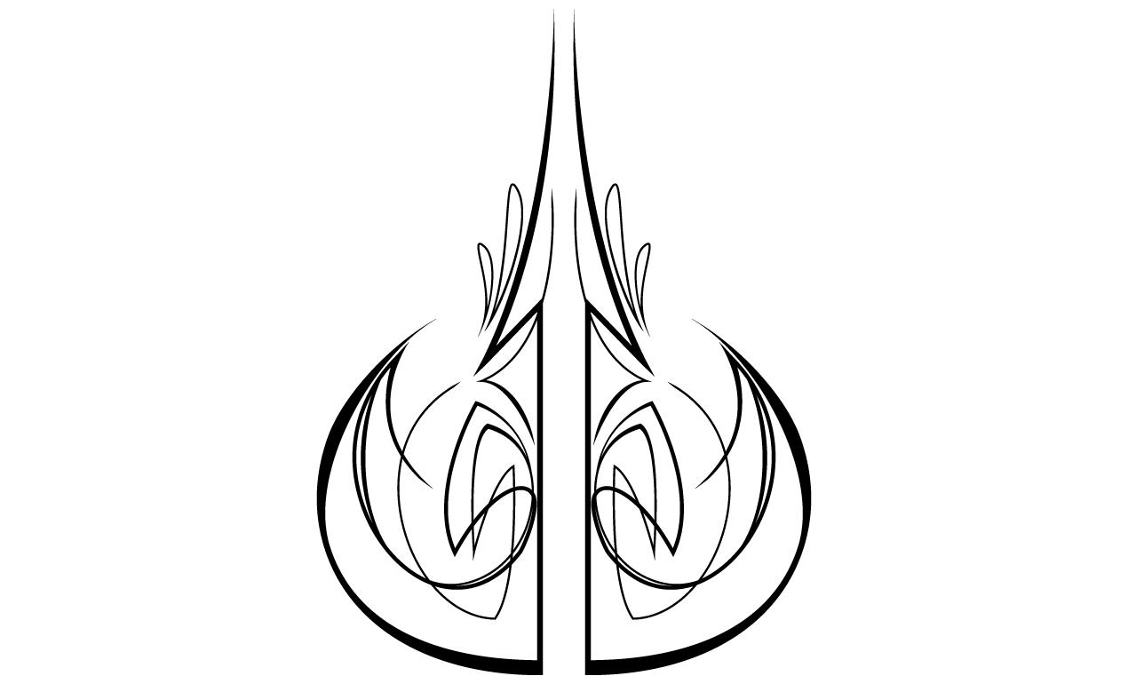 Vector Pinstripes.