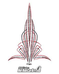 Hot Rod Pinstripe.