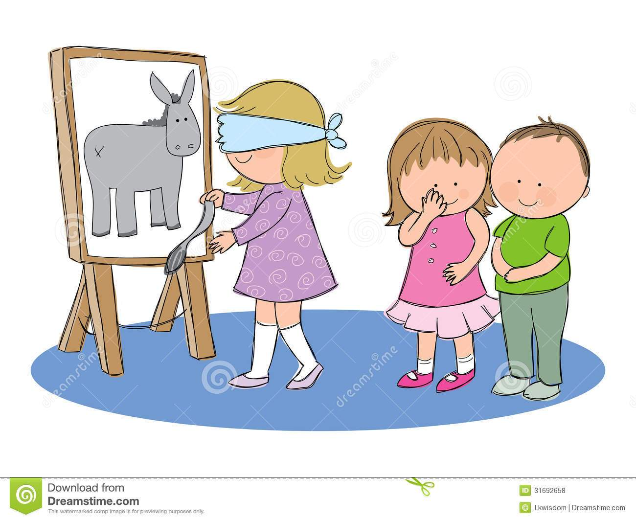 Pin the tail on the donkey clipart 7 » Clipart Portal.