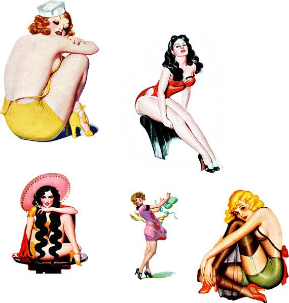 Free Pin Up Art.