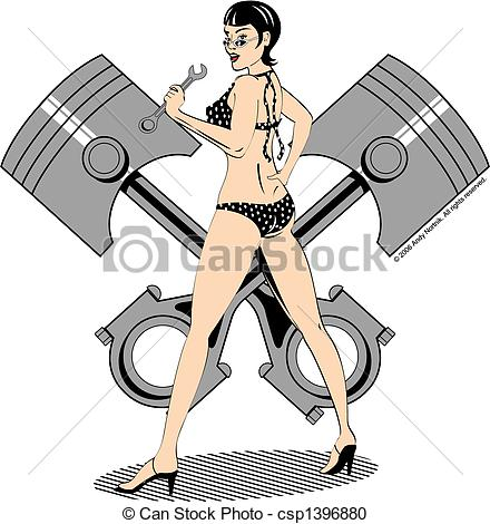 Pinup girl Illustrations and Clip Art. 4,063 Pinup girl royalty.