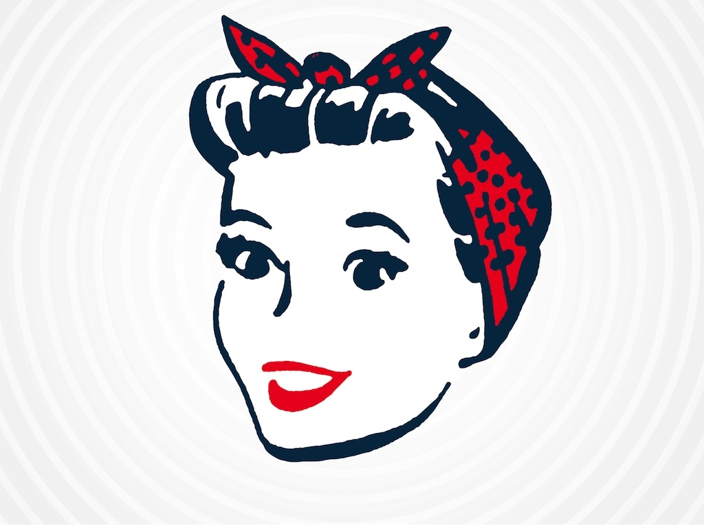 Pin up girl clipart free.