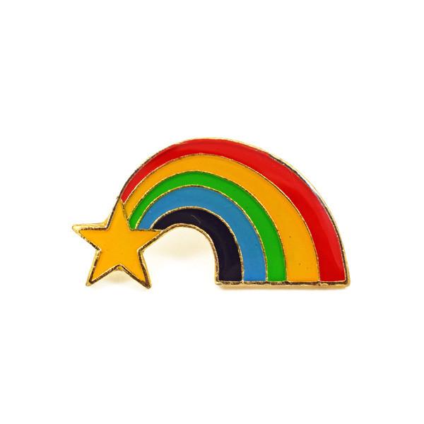 Vintage Rainbow Pin.