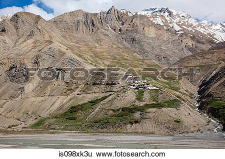 Stock Images of Talling, Pin Valley, Himachal Pradesh, India.