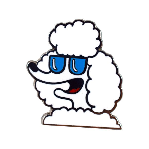 French Poodle Pin.