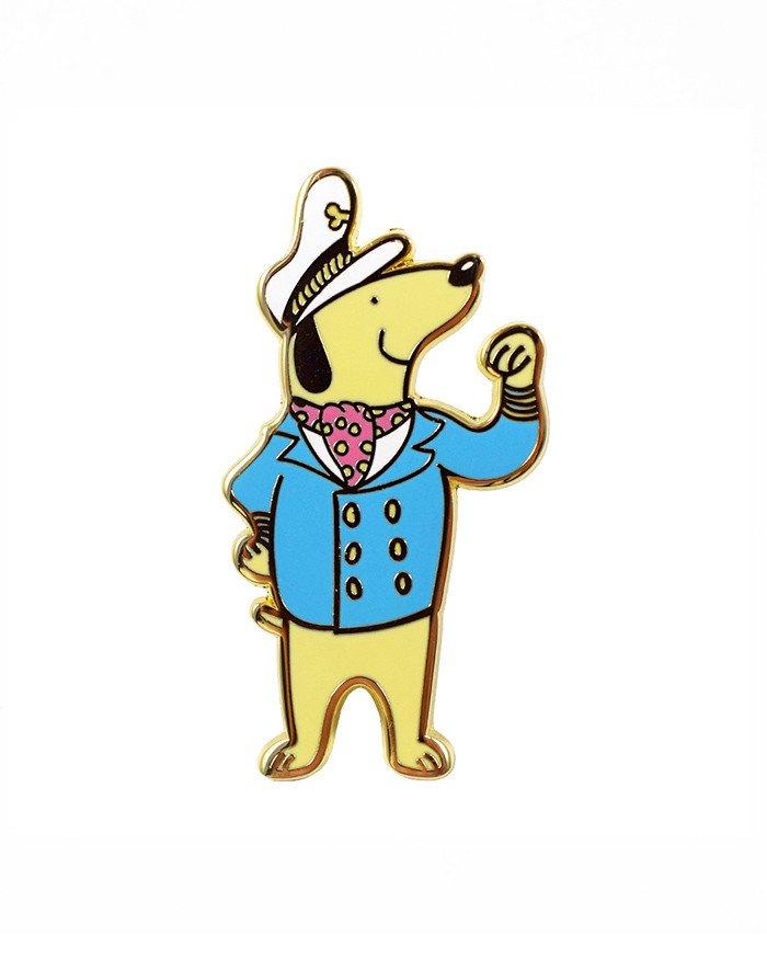Captain Pup Pin.