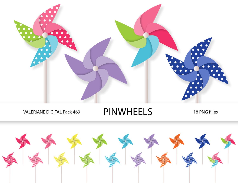 Pinwheel clip art.