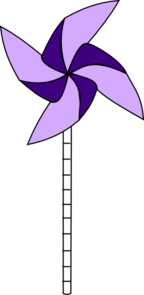 Purple Pinwheel Clip Art at Clker.com.
