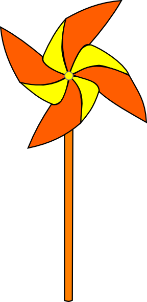 Pinwheel Clipart.