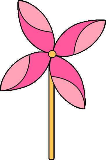 Spring Pinwheel Clip Art.