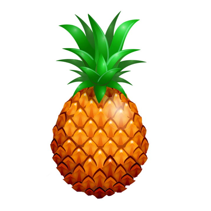 pineapple PNG.