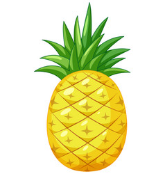 Pineapple Clipart White Vector Images (49).