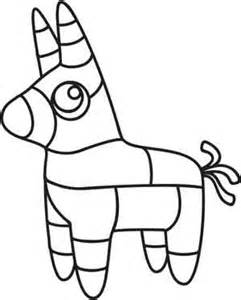 Black And White Clip Art Pinata.