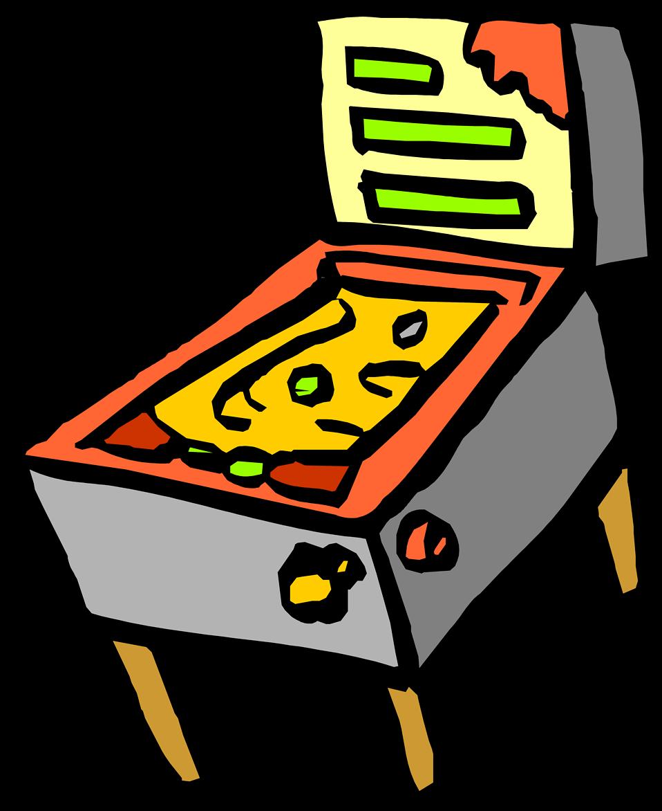 Pinball Clipart.