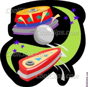 pinball Vector Clip art.