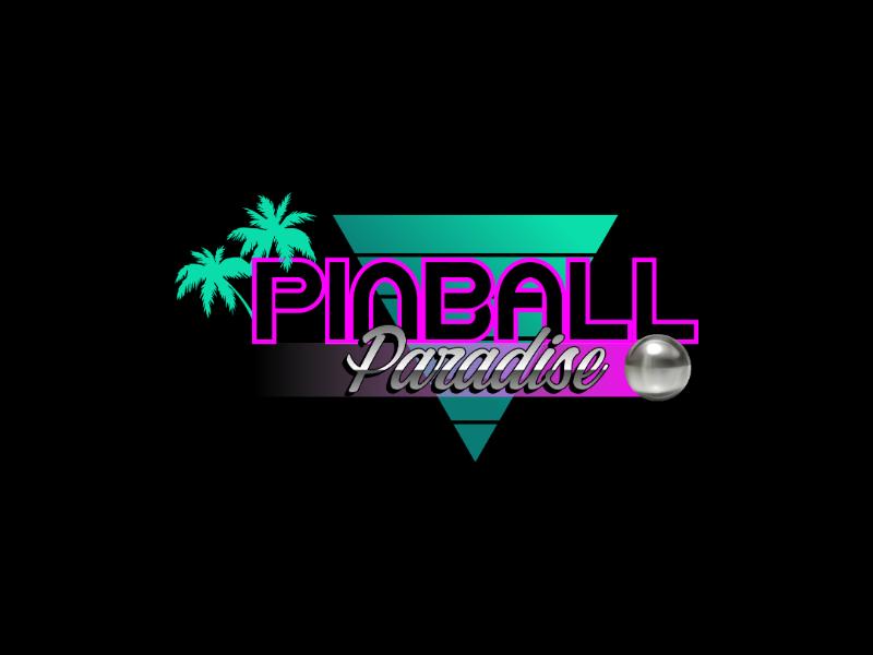 Pinball/Arcade Logo by Rick Adams on Dribbble.