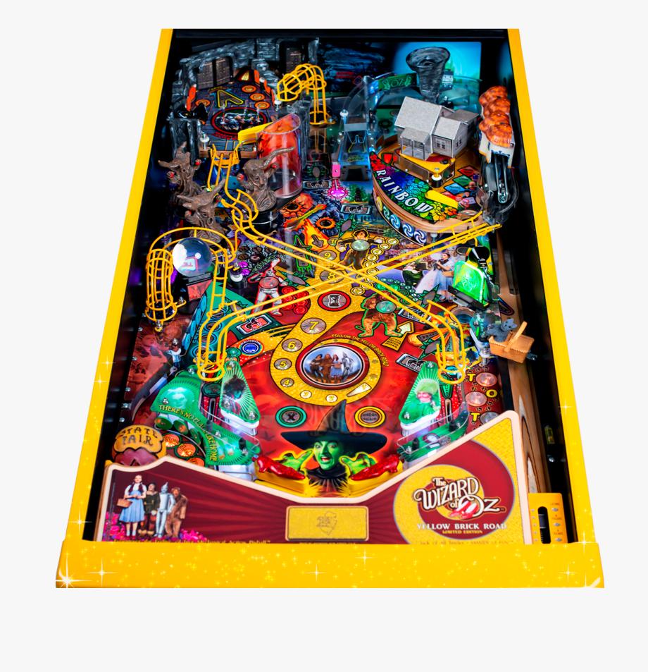 Woz Yellow Brick Road Pinball Machine.