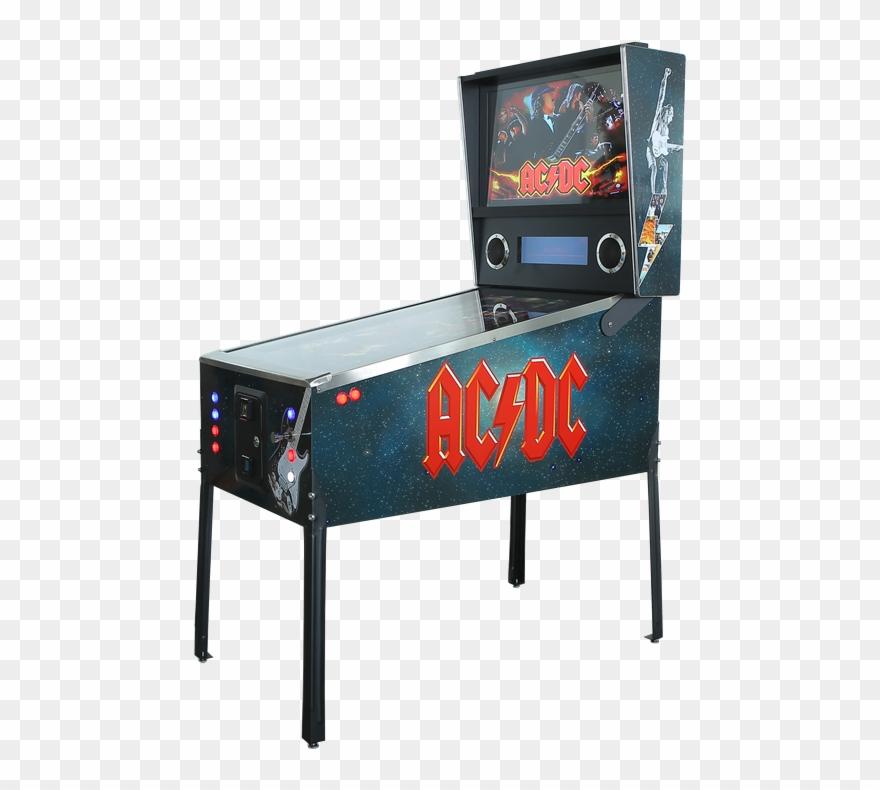 Acdc Virtual Pinball Machine Hire.