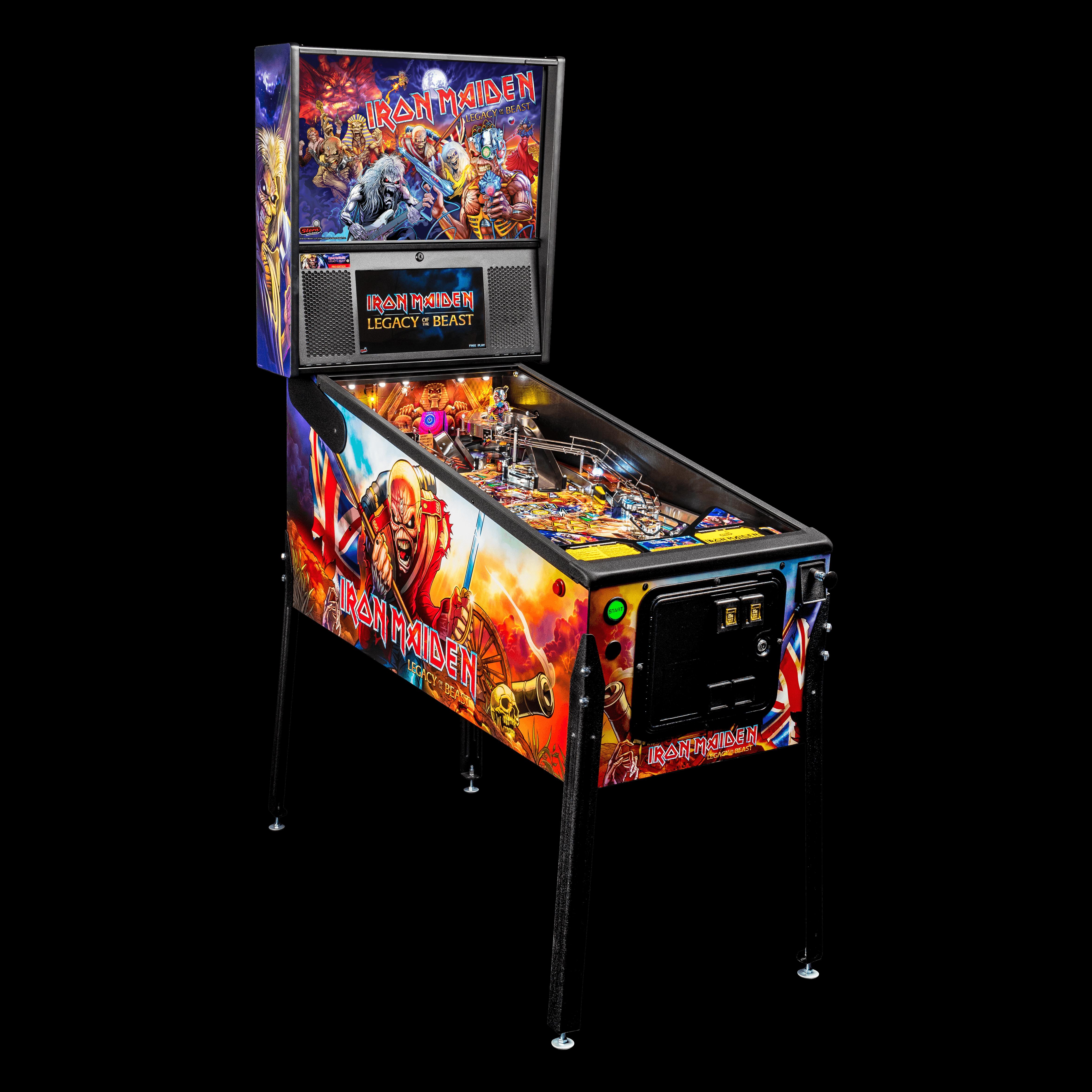 Iron Maiden Pro Pinball Machine by Stern.