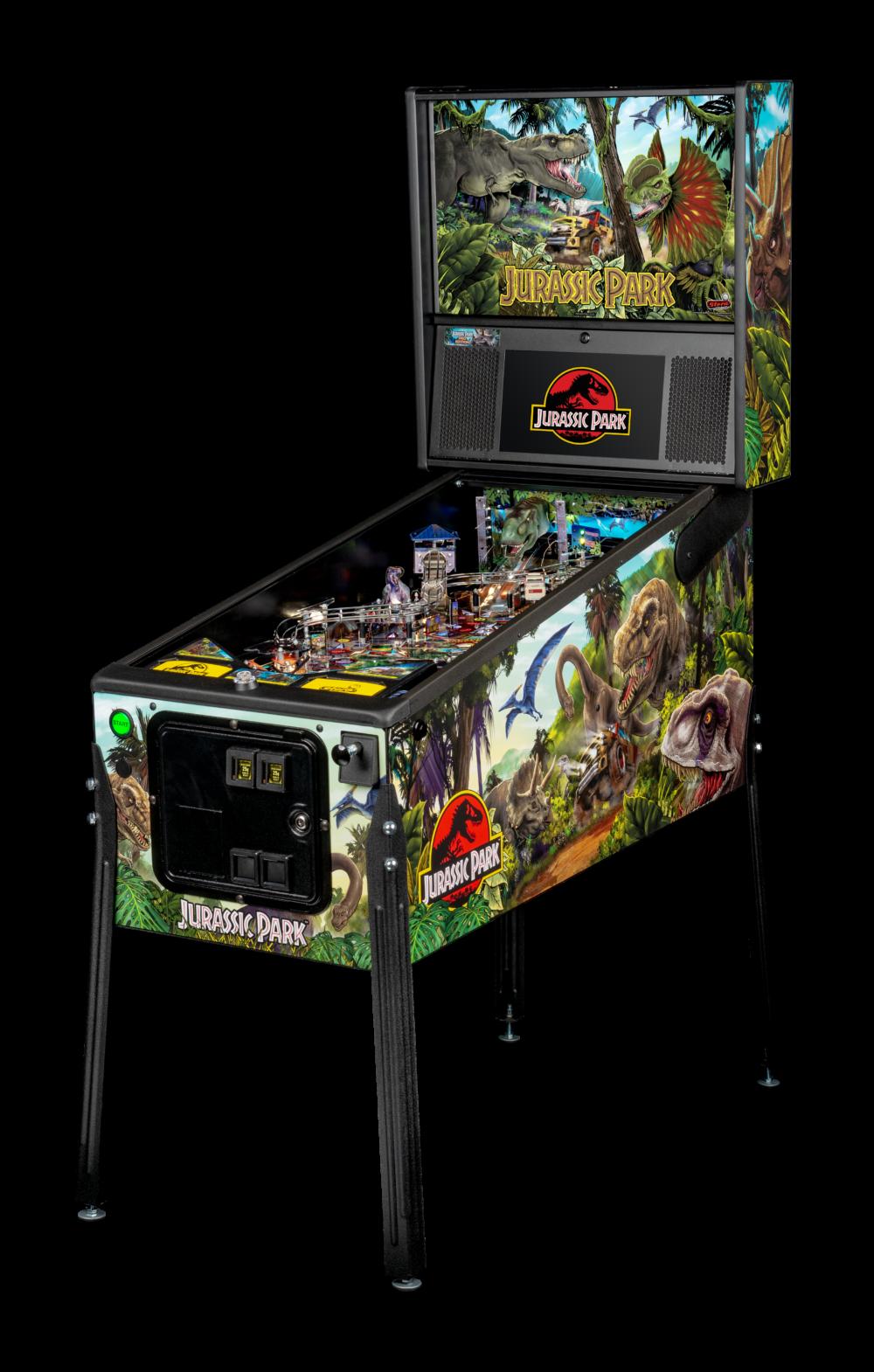 Jurassic Park pinball machine.