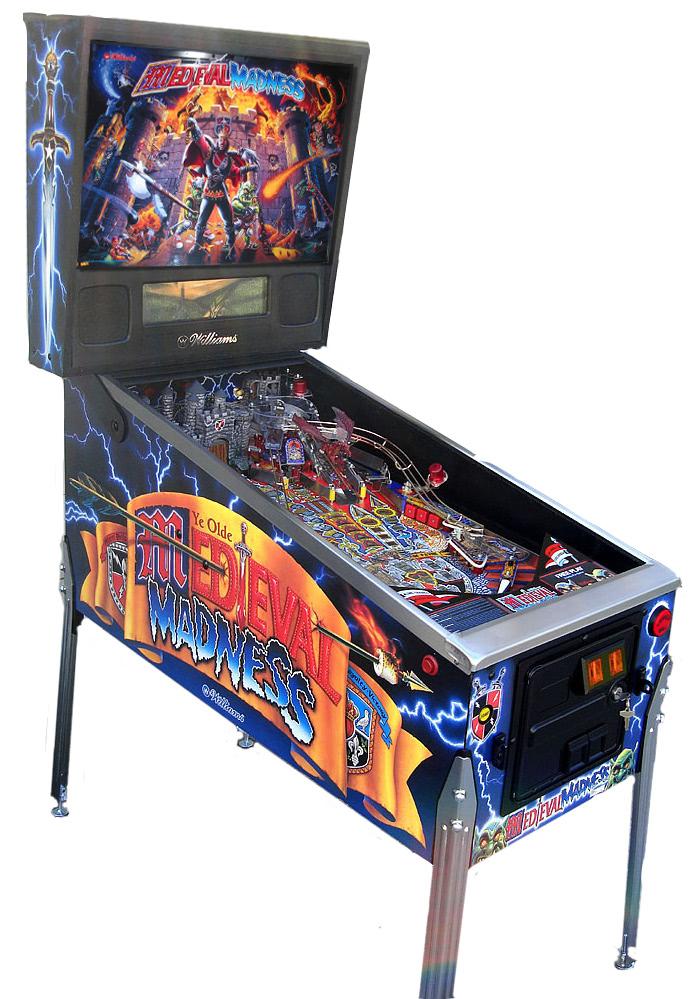 Medieval Madness Pinball Machine.