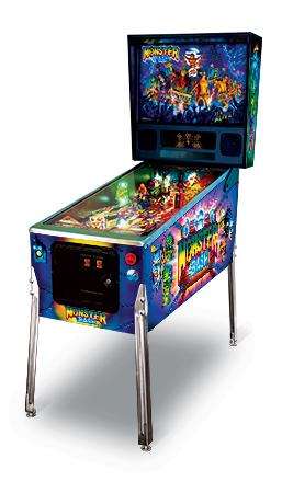 Monster Bash remake pinball machine.