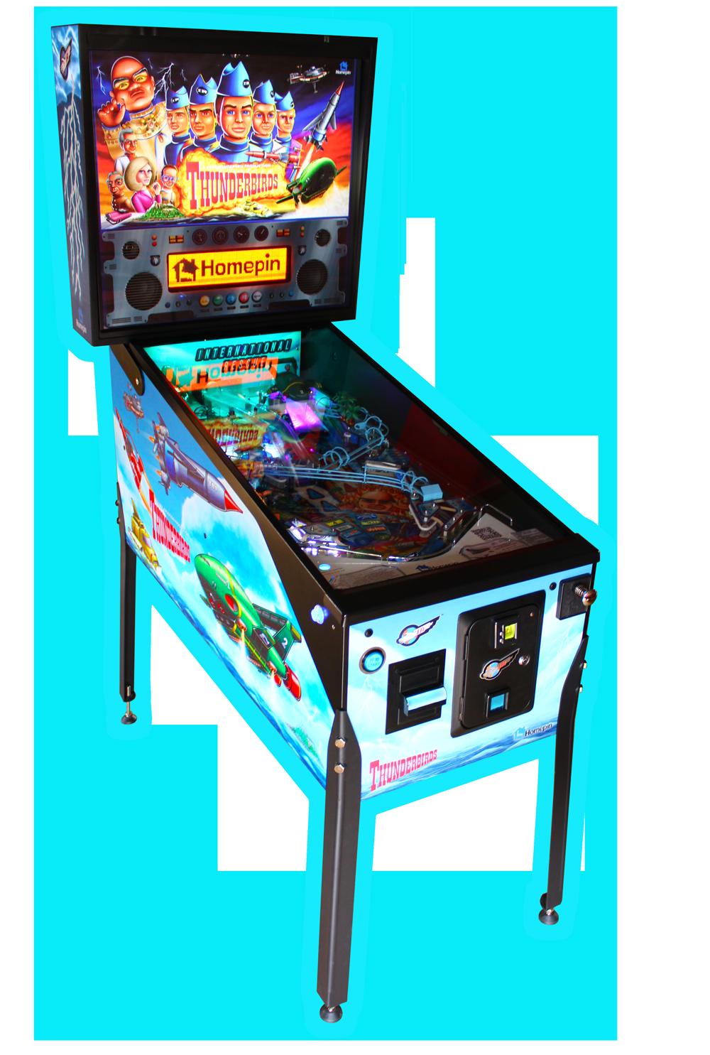 Thunderbirds pinball machine.
