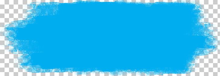 Pincelada Painting Color, Pinceladas, blue stroke art PNG.