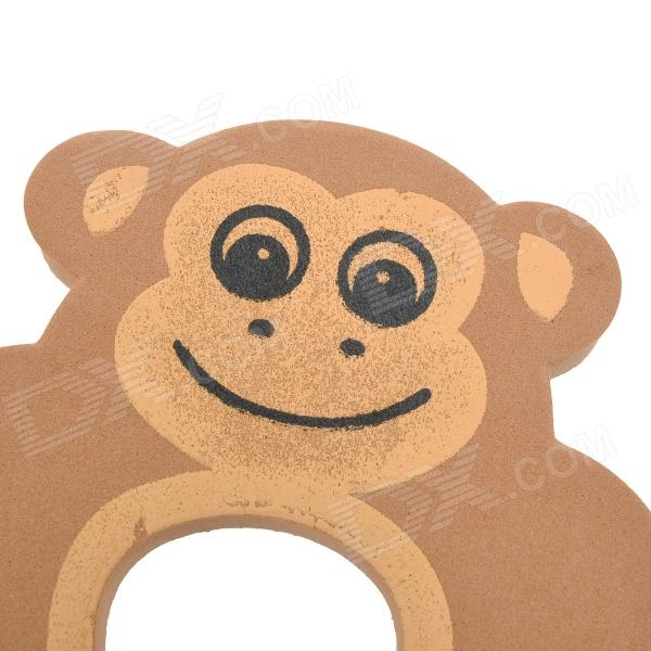 Cute Monkey Pattern Baby Safety Door Stopper Finger Pinch Guard.