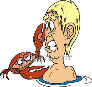 Gallery For > Pinching Crab Clipart.