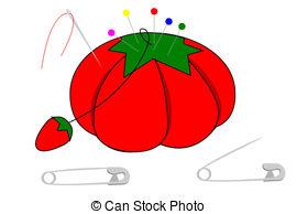 Pincushion Illustrations and Clip Art. 265 Pincushion royalty free.