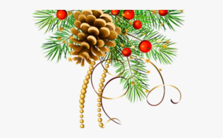Christmas Pine Cone Clip Art , Free Transparent Clipart.