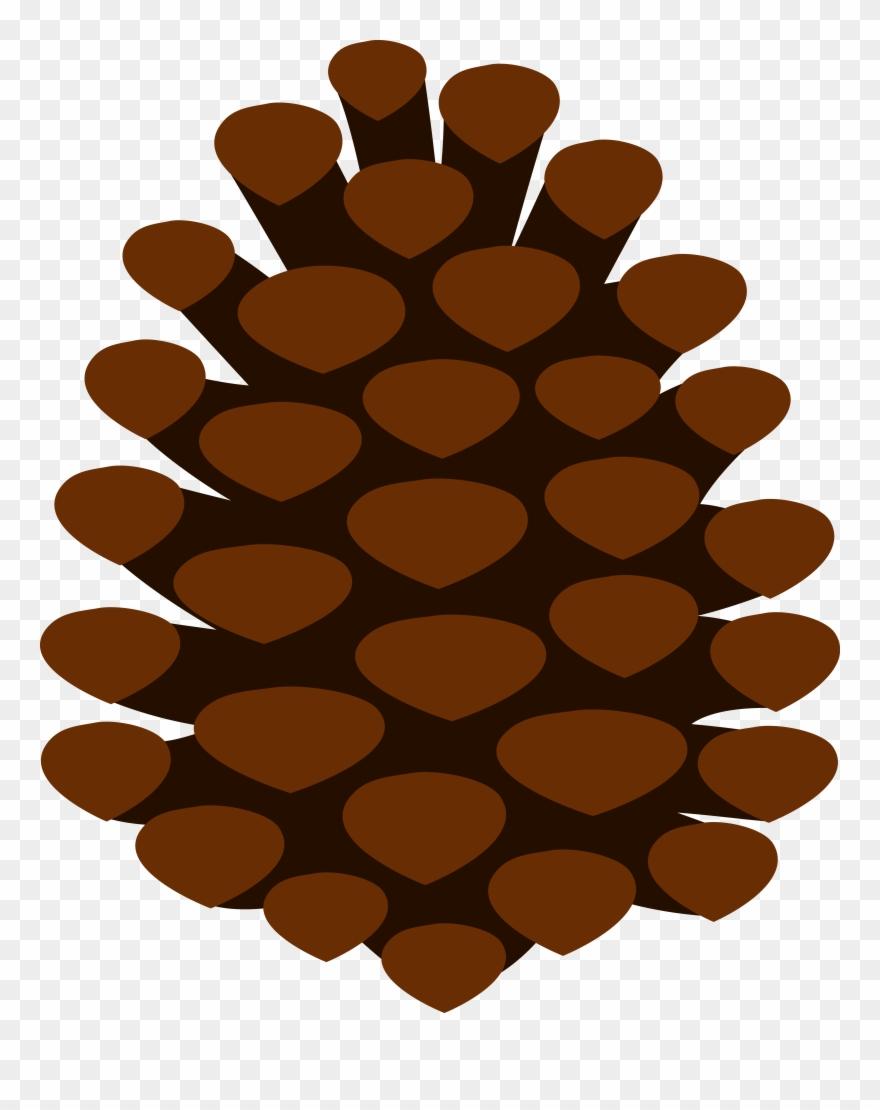Free Pine Cone Clip Art.