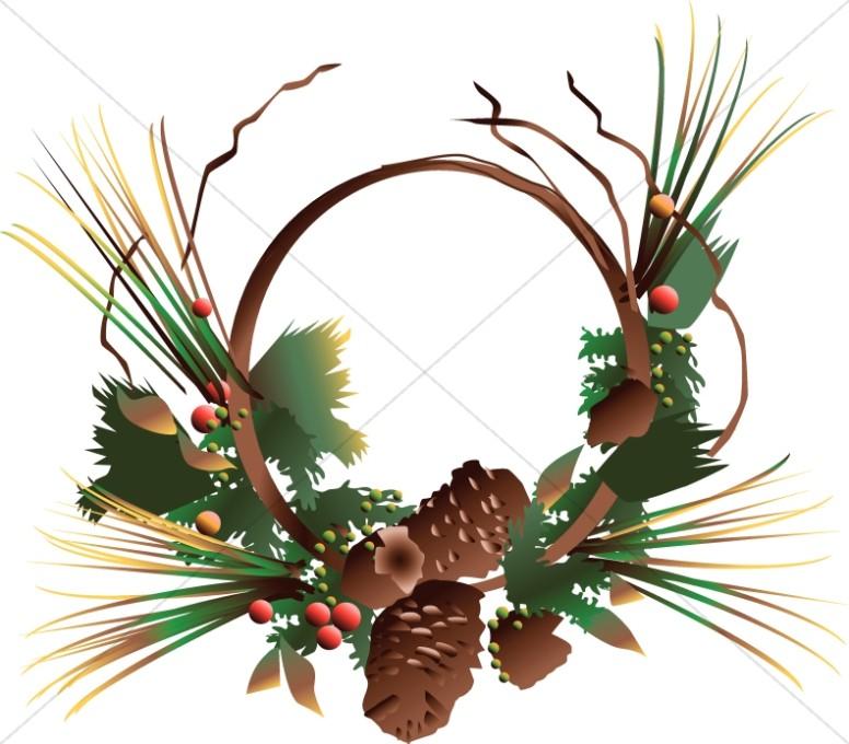 Pine Cone Decoration.