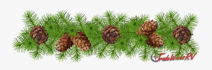 Pinecone Garland Clipart , Free Transparent Clipart.
