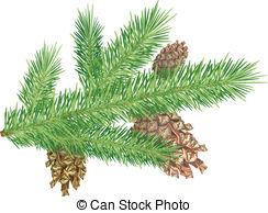 Pine Needle Clip Art.