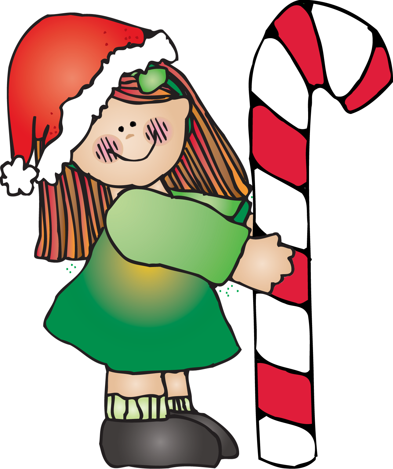 Dj Inkers Christmas Tree Clipart.