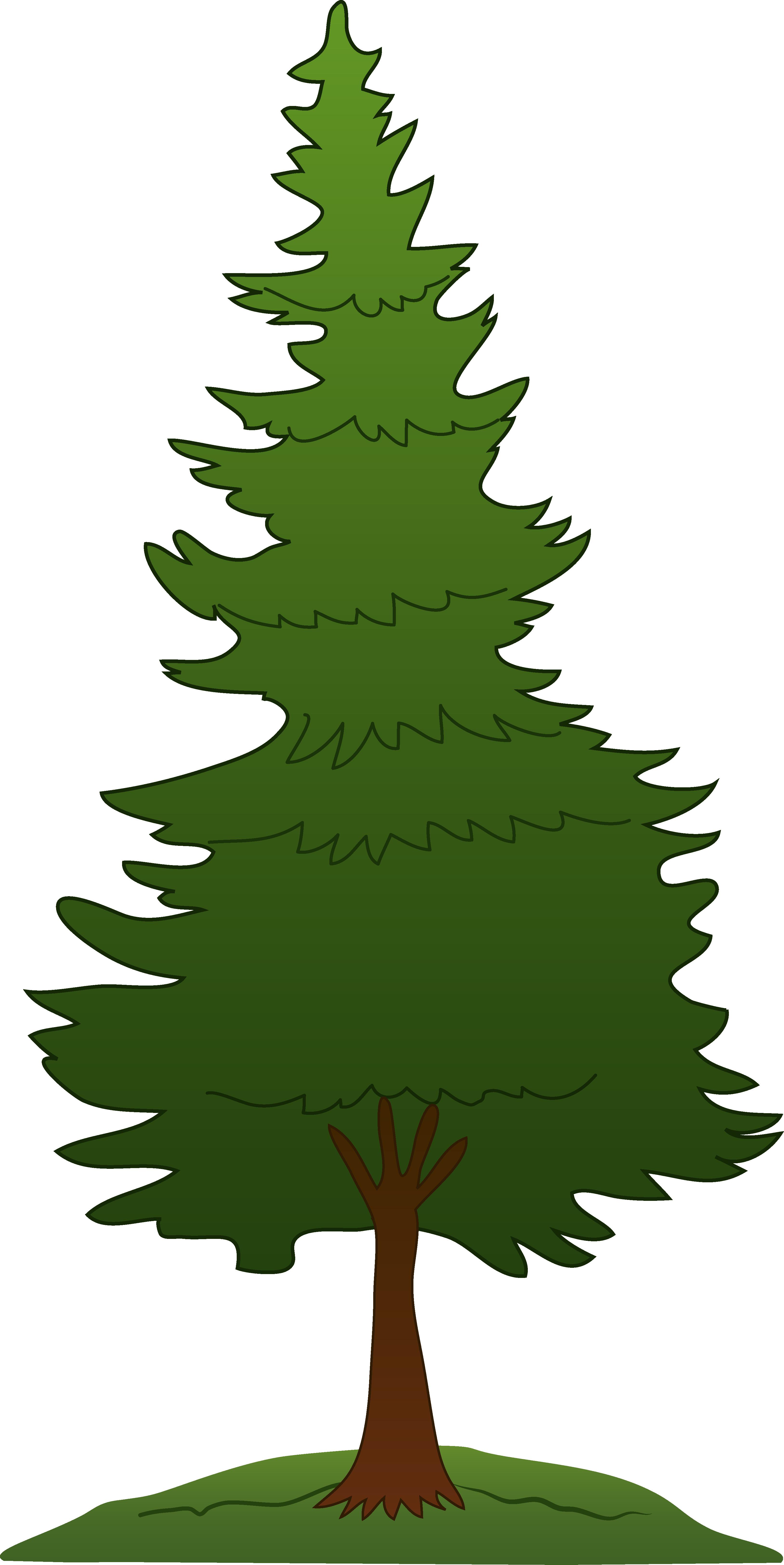 Tree clip art pine tree clipart free.