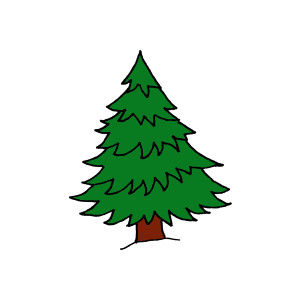 Pine Trees Clip Art Vector Free Clipart Images Clipartcow.